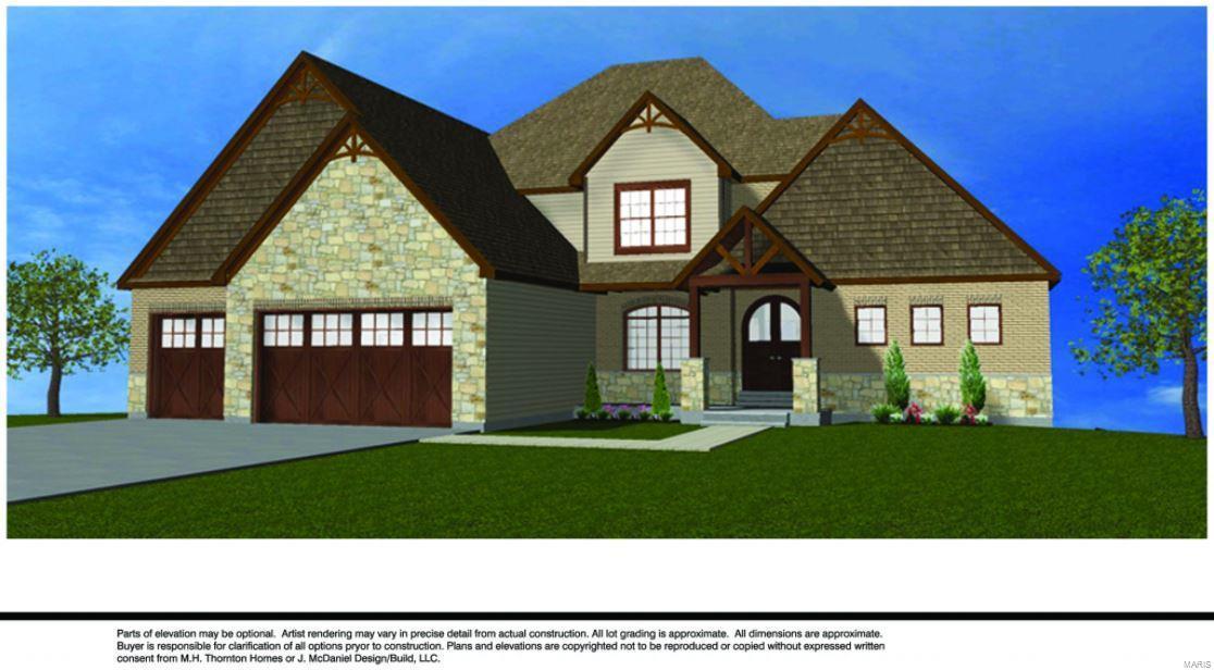 1000 CARRINGTON@Cedar Springs Court Property Photo - Lake St Louis, MO real estate listing
