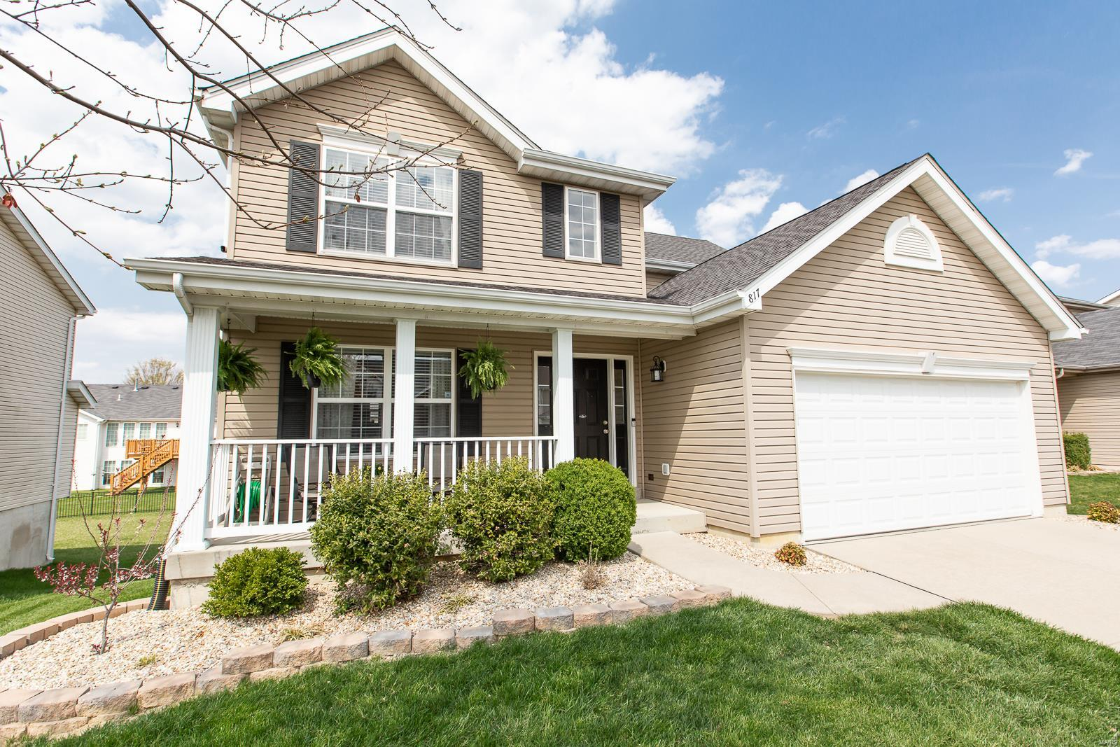 817 Saybrook Falls Drive Property Photo - Fairview Heights, IL real estate listing