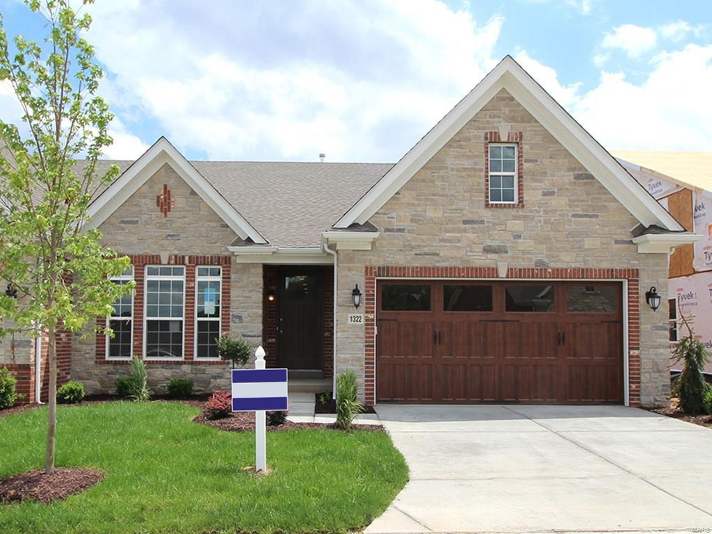 1331 Spring Snow Drive Property Photo - Frontenac, MO real estate listing
