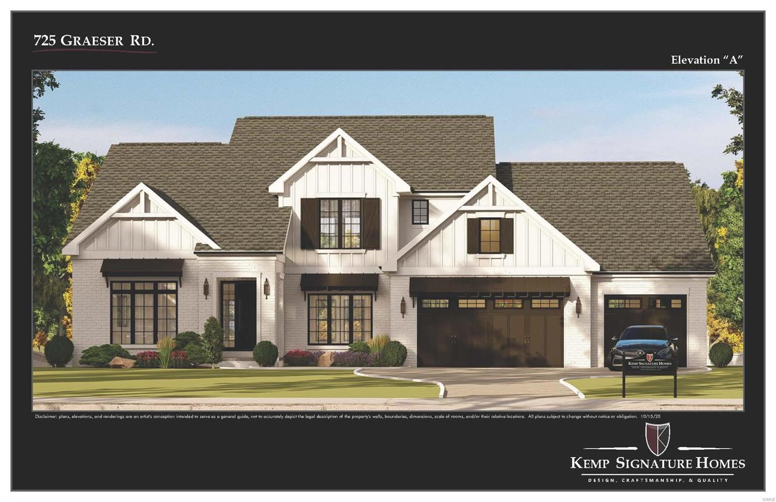 725 Graeser Road Property Photo - Creve Coeur, MO real estate listing