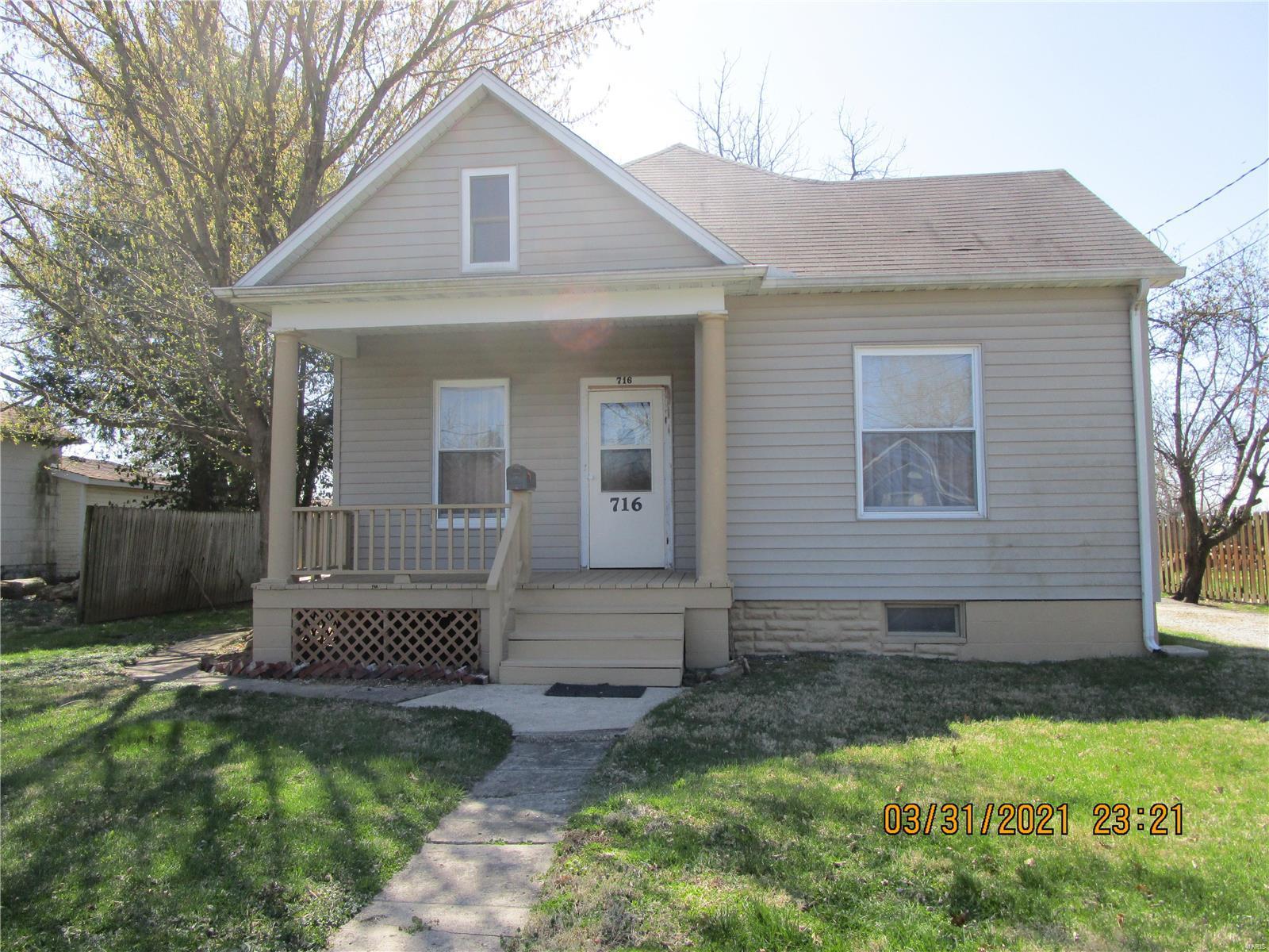 716 W 7th Street Property Photo - Staunton, IL real estate listing