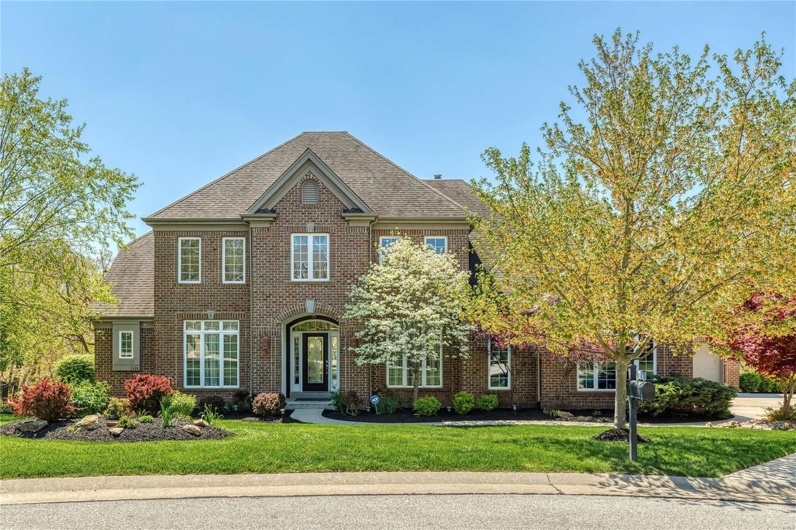 1524 Quail Hollow Court Property Photo - Wildwood, MO real estate listing