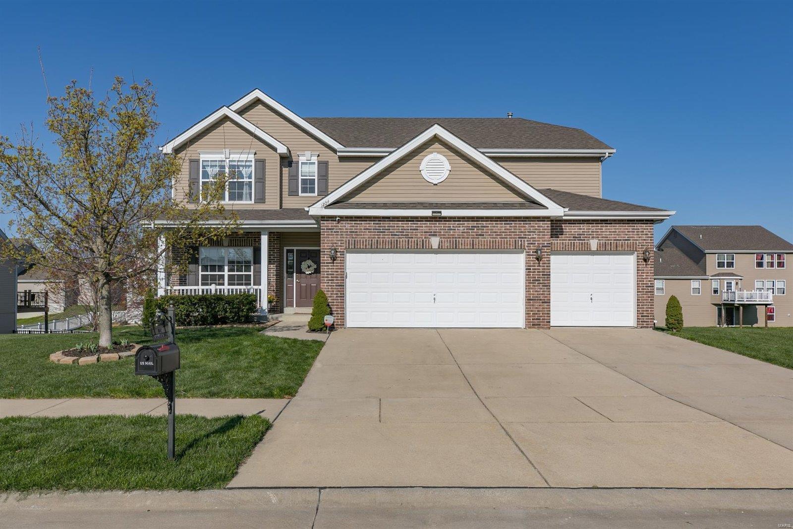 1204 Meadowview Lane Property Photo - Shiloh, IL real estate listing
