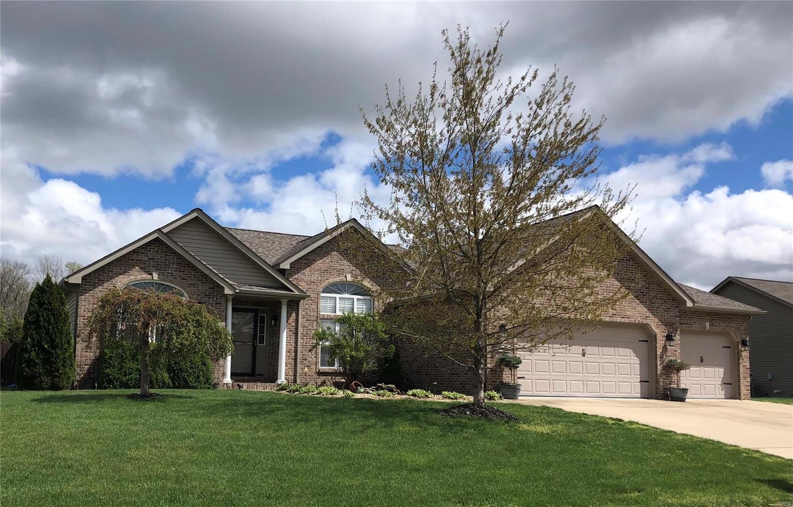 528 Whitestone Lane Property Photo - Smithton, IL real estate listing