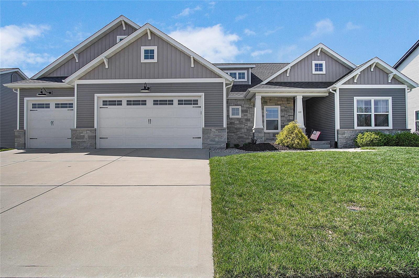 62 Oakshire Drive W Property Photo - Glen Carbon, IL real estate listing