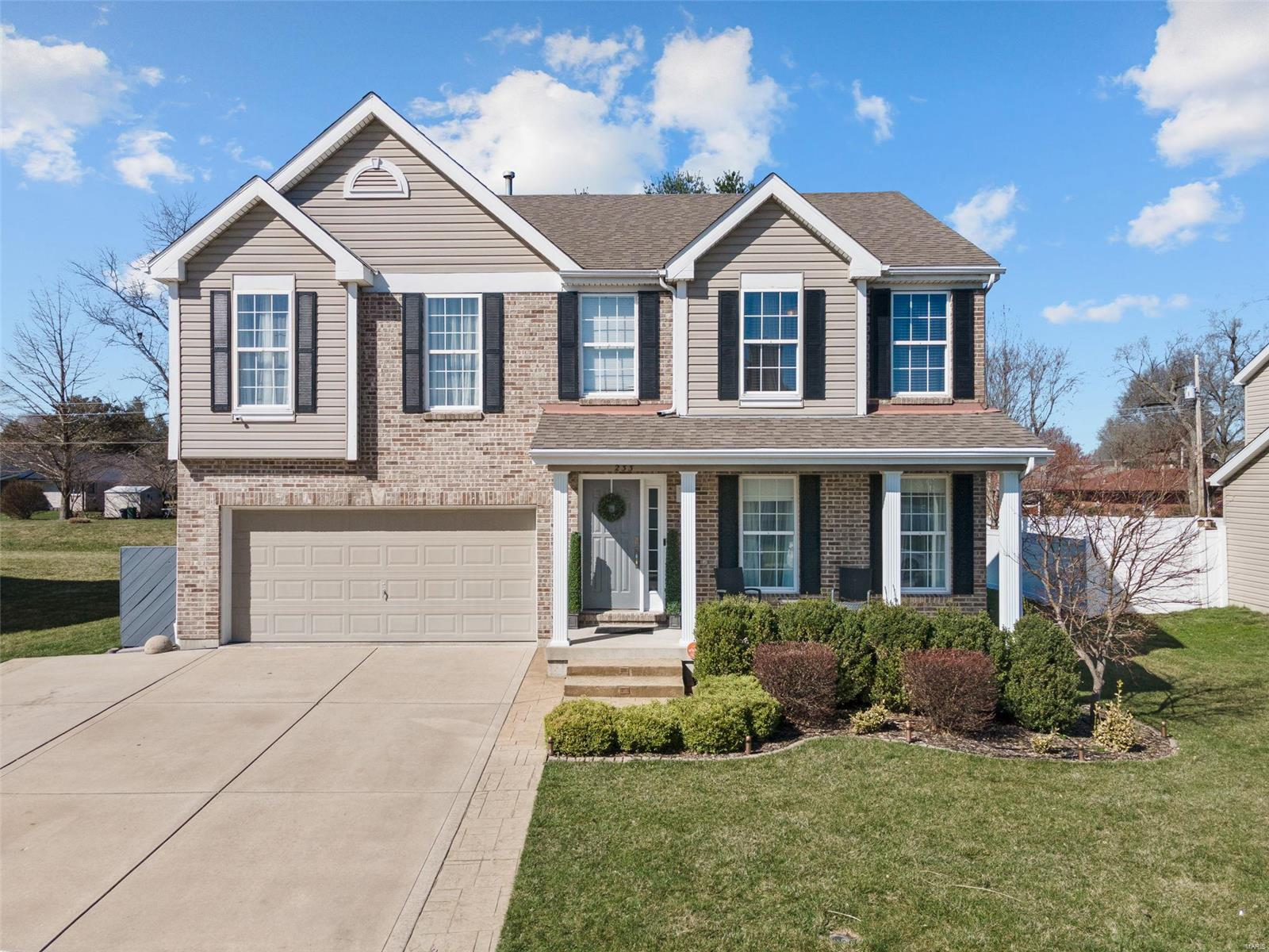233 Crystal Lane Property Photo - Fairview Heights, IL real estate listing