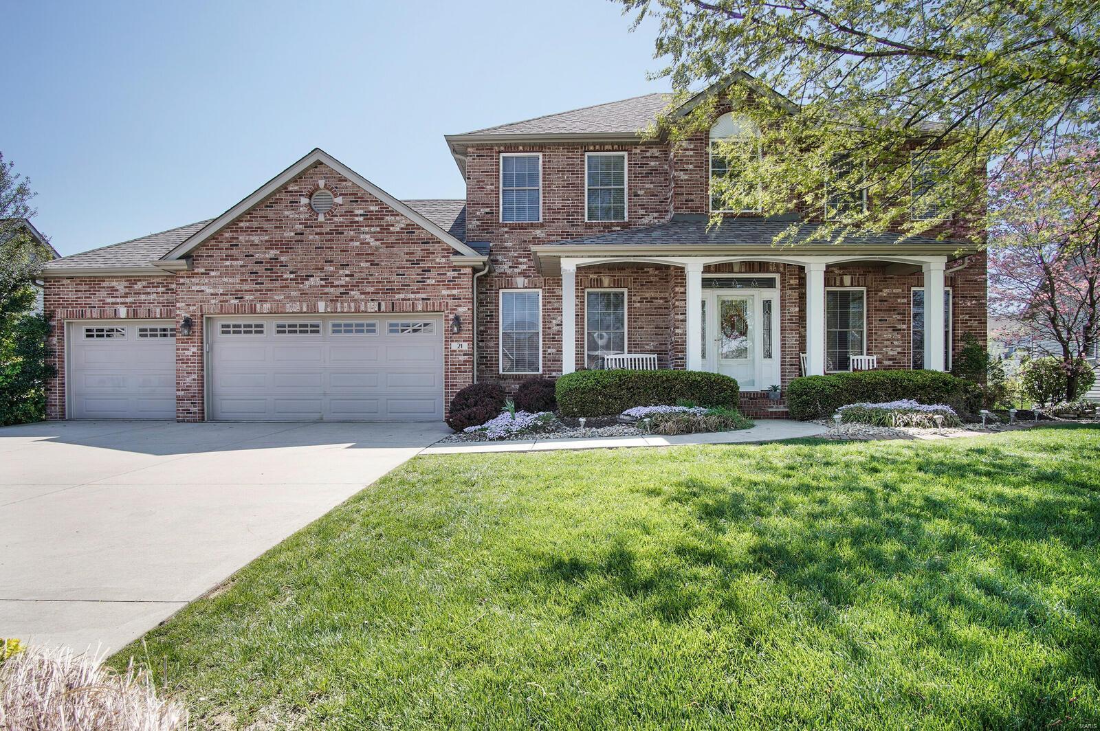 21 Oak Lake Court Property Photo - Maryville, IL real estate listing