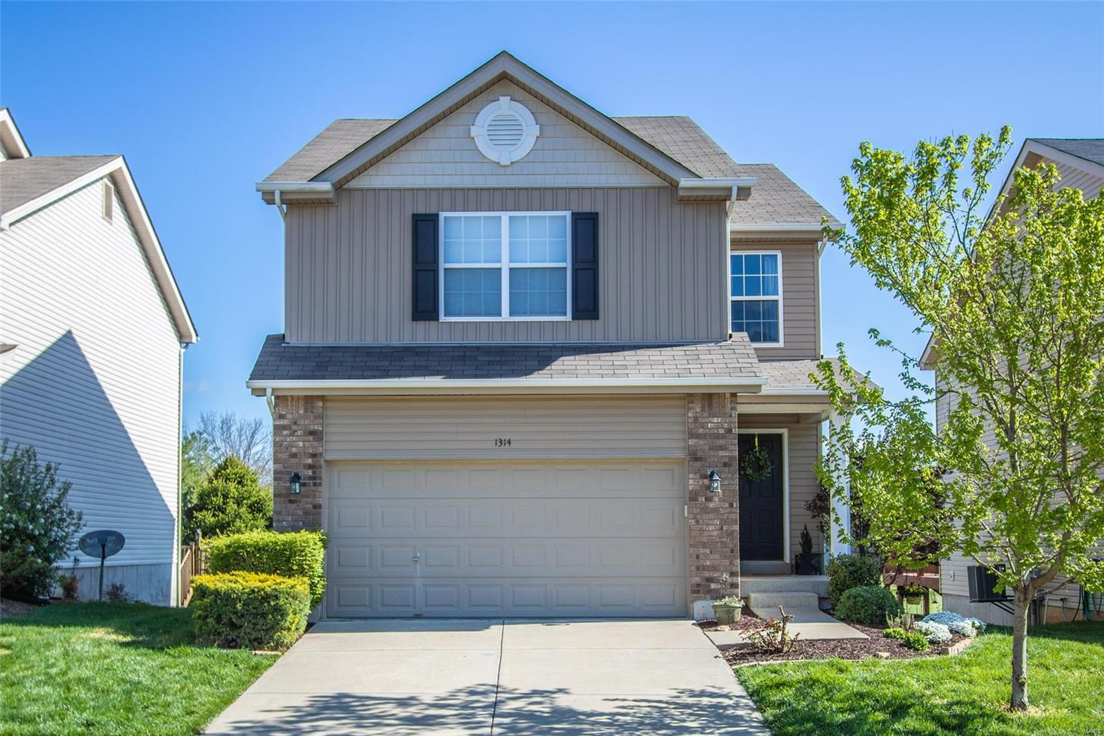 1314 Commons Circle Property Photo - Cottleville, MO real estate listing