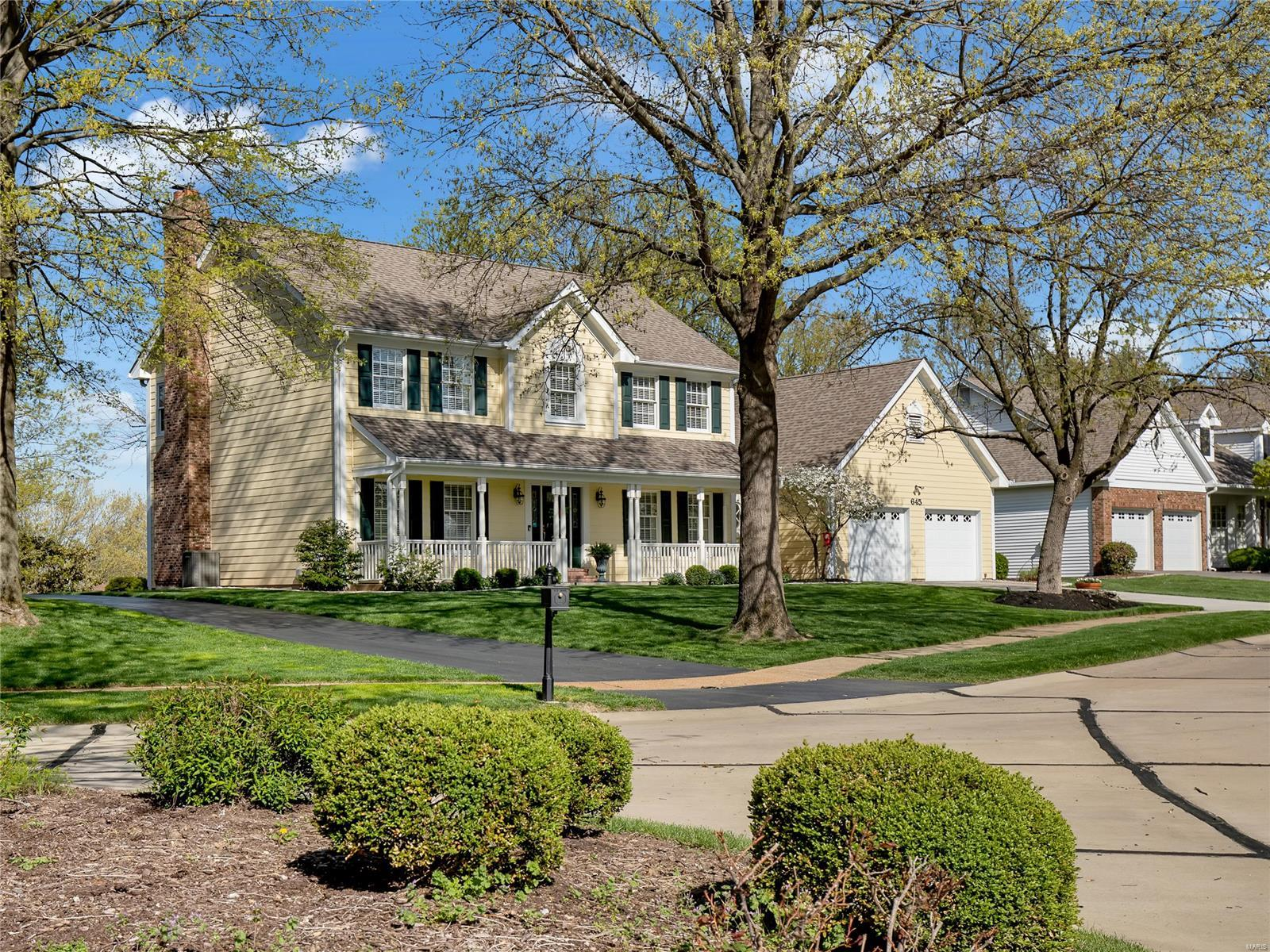 645 Westledge Court Property Photo - Des Peres, MO real estate listing