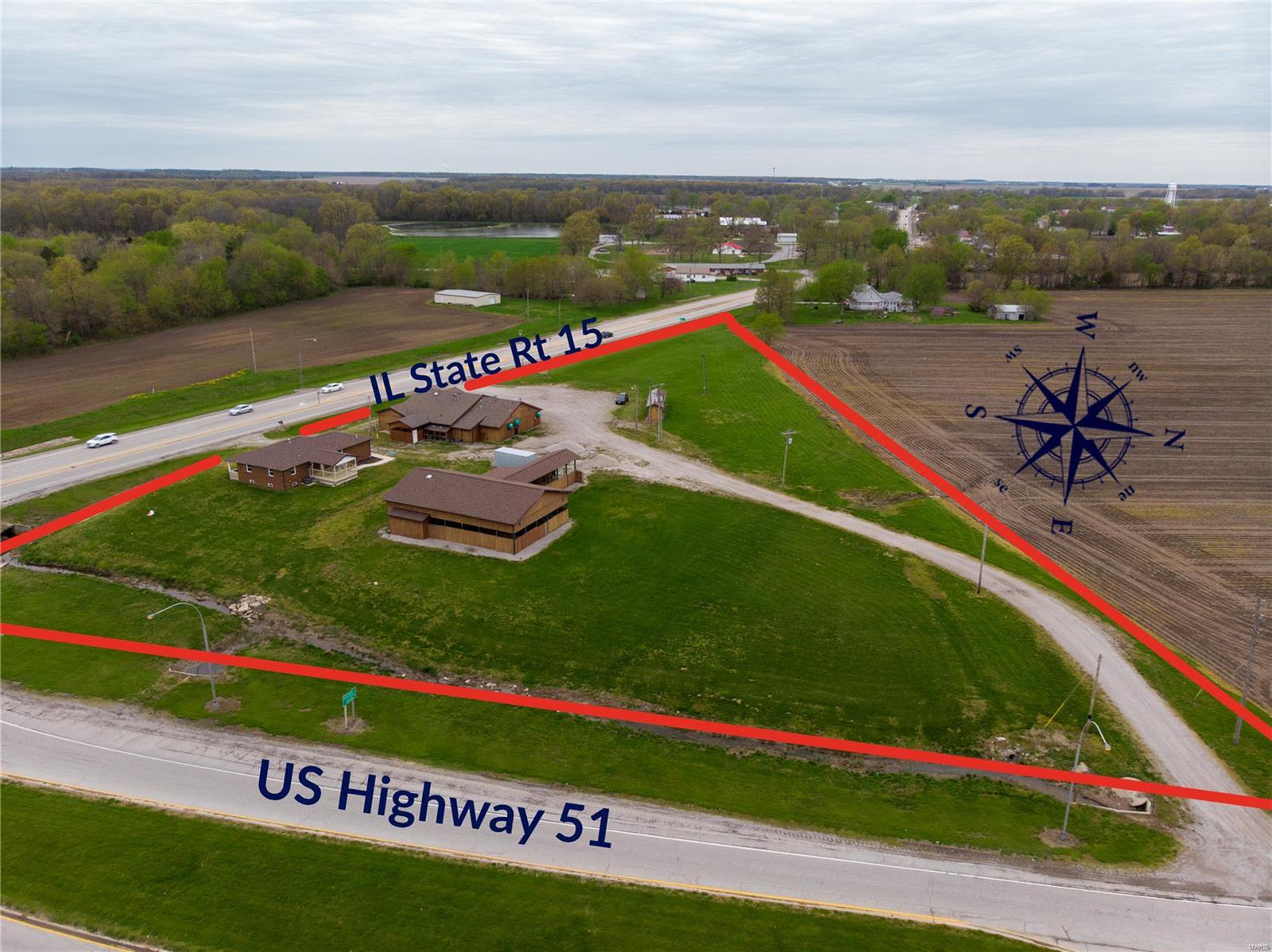 28151 State Route 15 Property Photo - Ashley, IL real estate listing