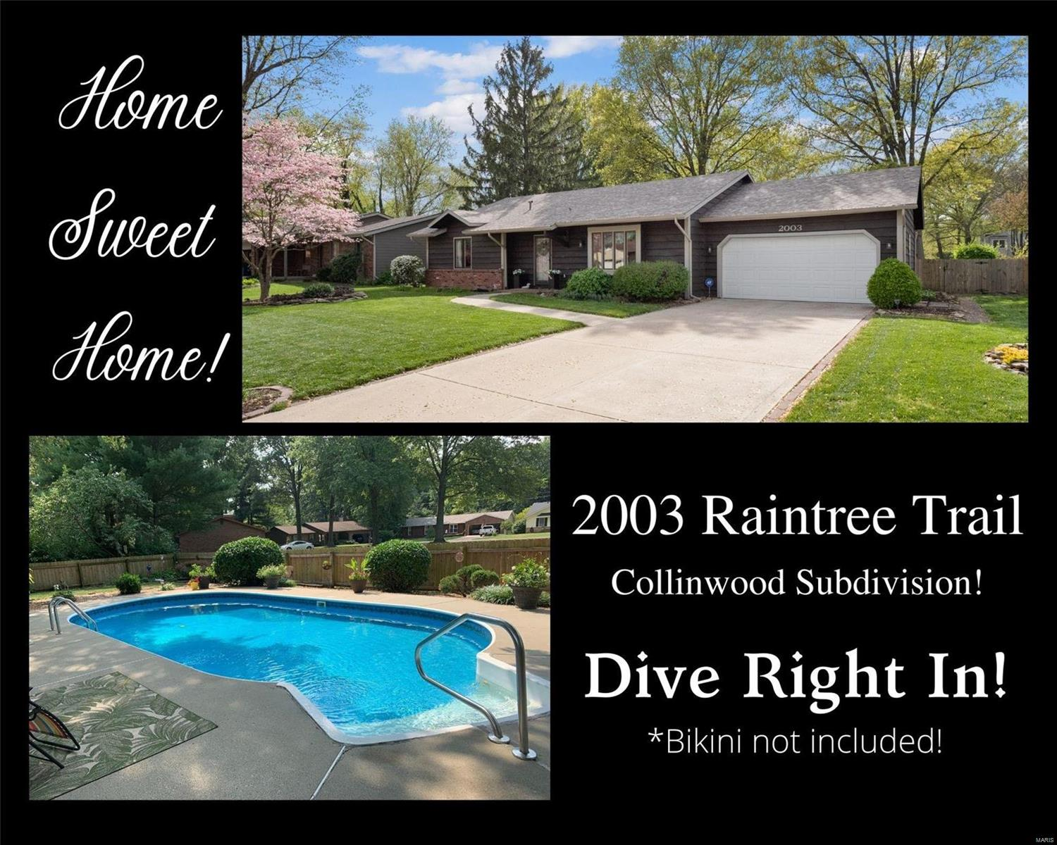 2003 Raintree Trail Property Photo - Collinsville, IL real estate listing