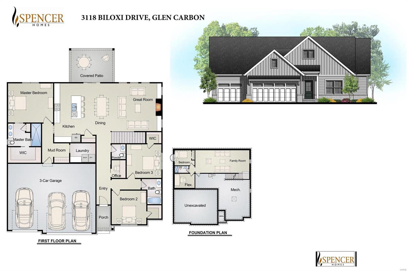 3118 Biloxi Drive Property Photo - Glen Carbon, IL real estate listing