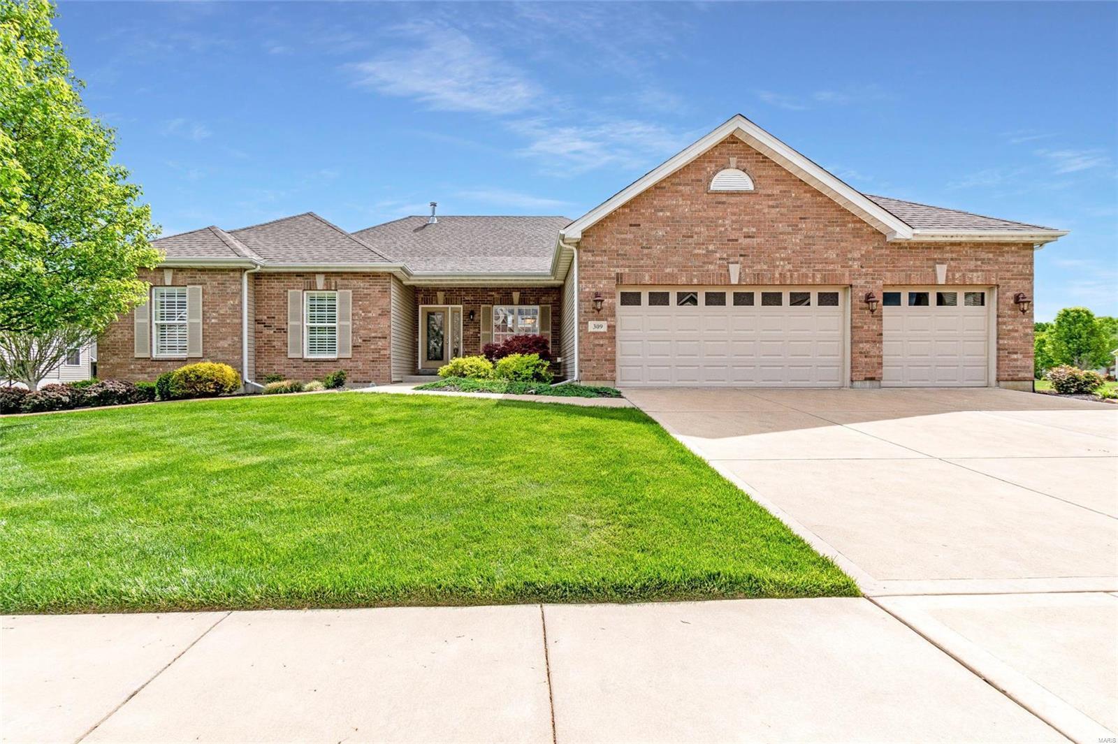309 Trailhead Way Property Photo - Dardenne Prairie, MO real estate listing
