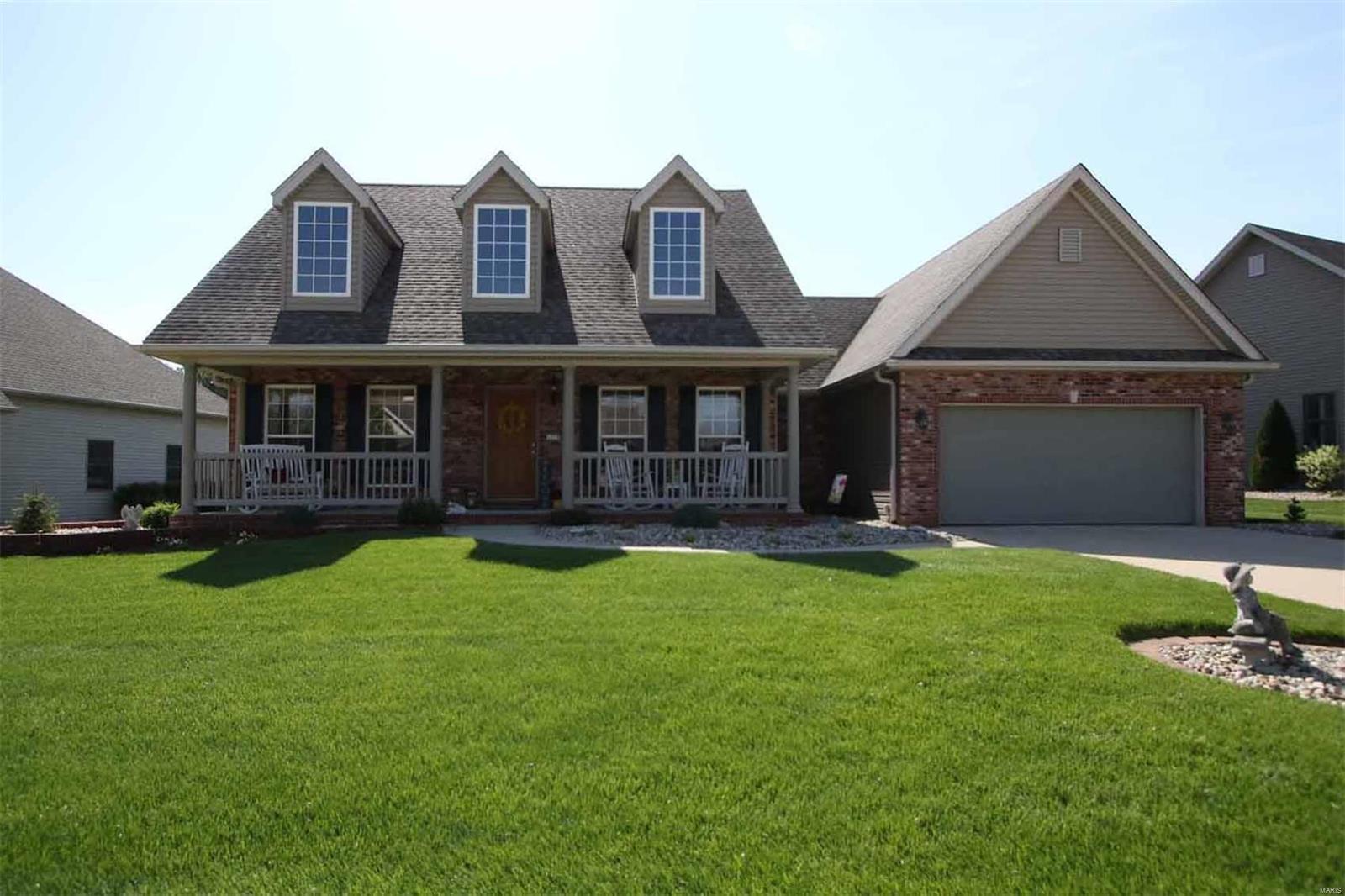 1719 Aster Lane Property Photo - Godfrey, IL real estate listing