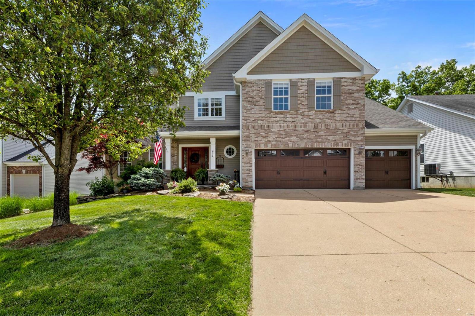 614 Legends Bluffs Property Photo - Eureka, MO real estate listing
