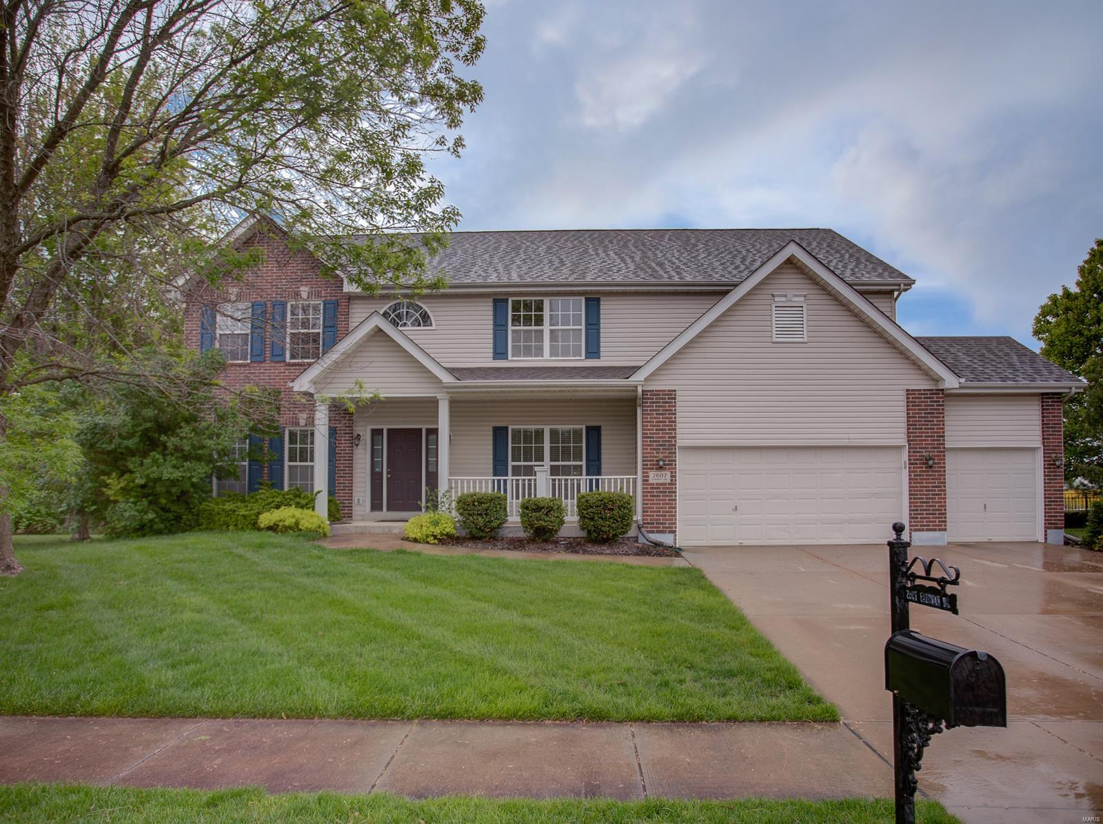2607 Fairway Drive Property Photo - Belleville, IL real estate listing