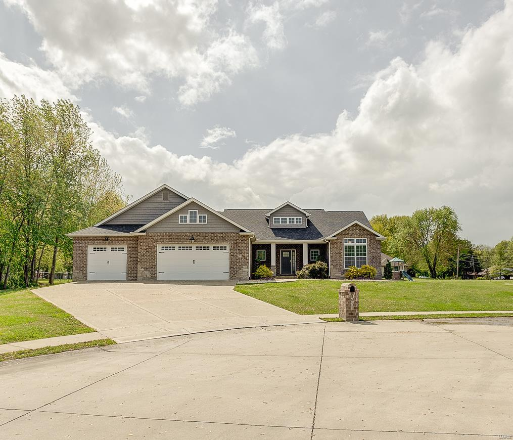 621 Briar Meadow Court Property Photo - Troy, IL real estate listing