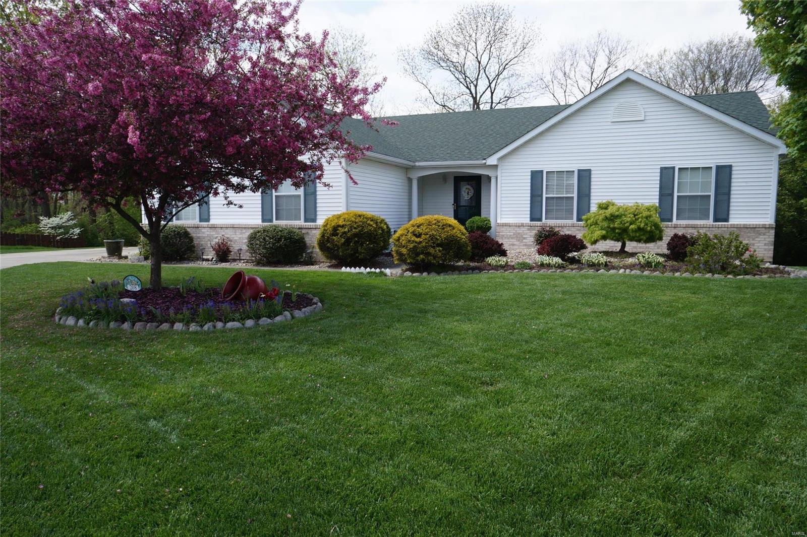 208 Sun Meadow Court Property Photo - Smithton, IL real estate listing