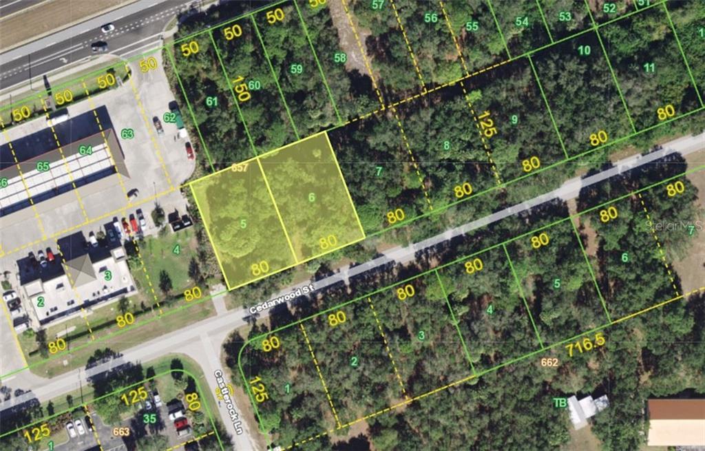 1827 & 1835 CEDARWOOD STREET Property Photo - PORT CHARLOTTE, FL real estate listing