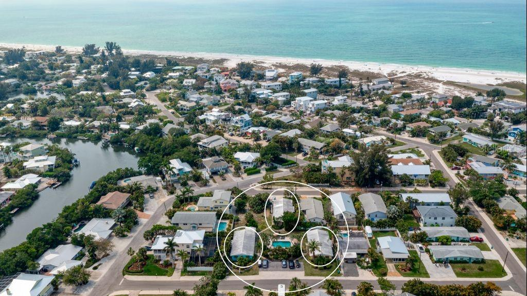 607, 609, 611 FERN STREETS & 610 ROSE STREET #A Property Photo - ANNA MARIA, FL real estate listing