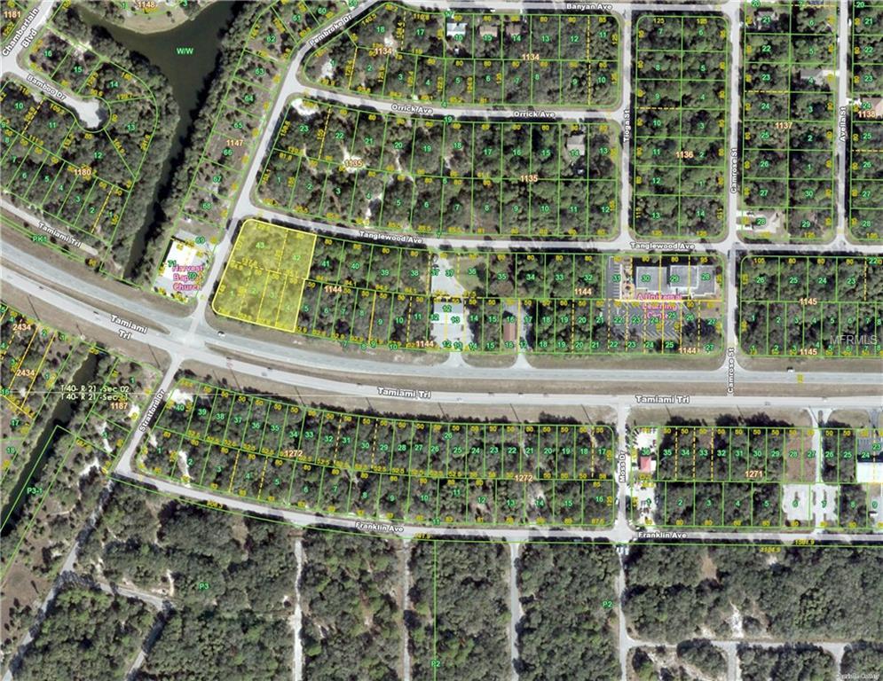 TANGLEWOOD/TAMIAMI/PEMBROKE AVE Property Photo - PORT CHARLOTTE, FL real estate listing