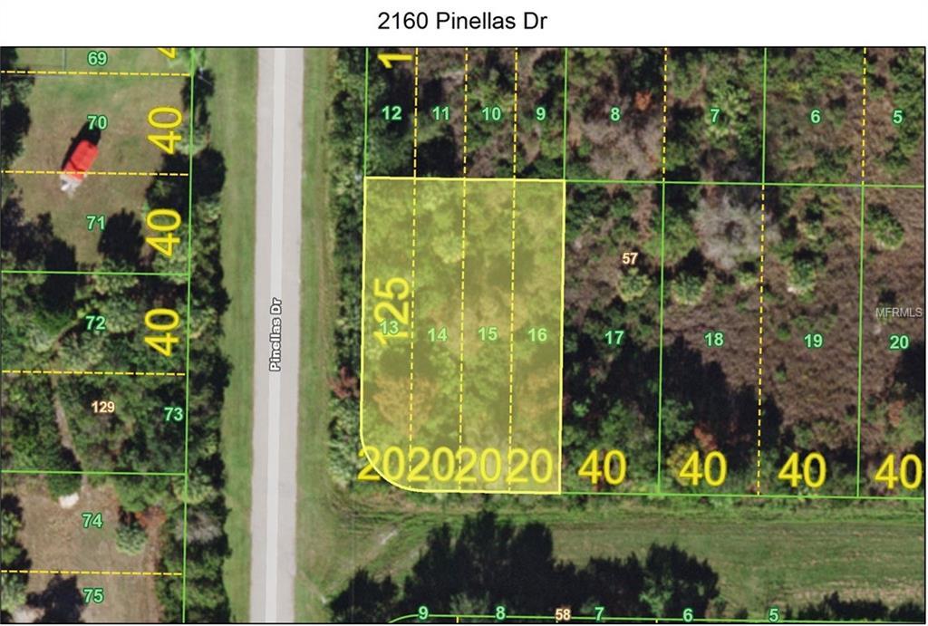 2160 Pinellas Drive Property Photo