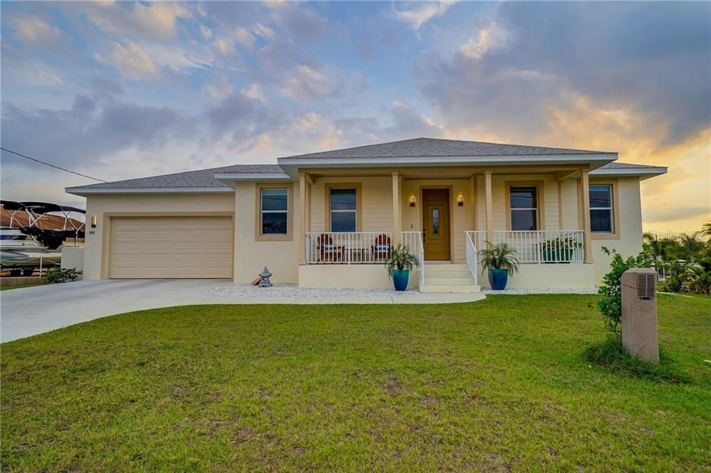 191 N WATERWAY DRIVE NW Property Photo - PORT CHARLOTTE, FL real estate listing
