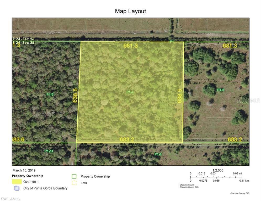 20950 GRANVILLE ROAD Property Photo - NORTH FORT MYERS, FL real estate listing