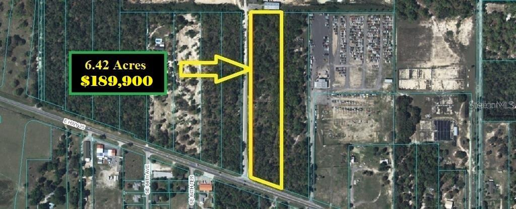 E. HWY 25 Property Photo - BELLEVIEW, FL real estate listing