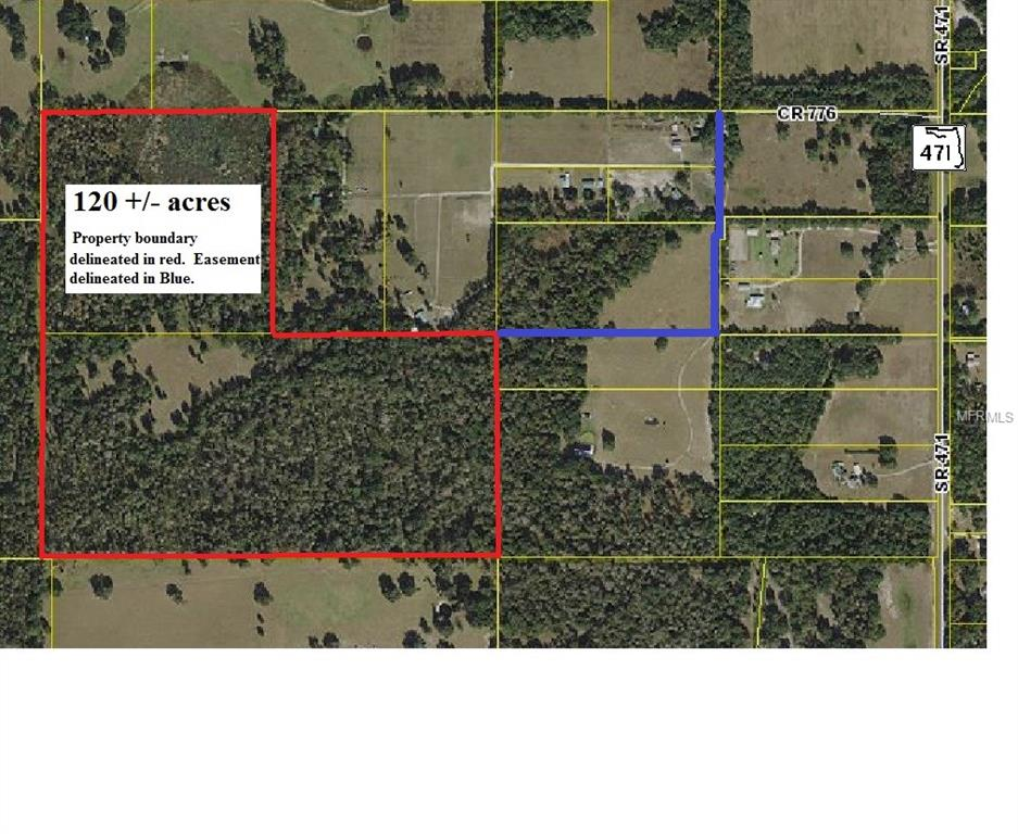 CR 776 Property Photo - WEBSTER, FL real estate listing