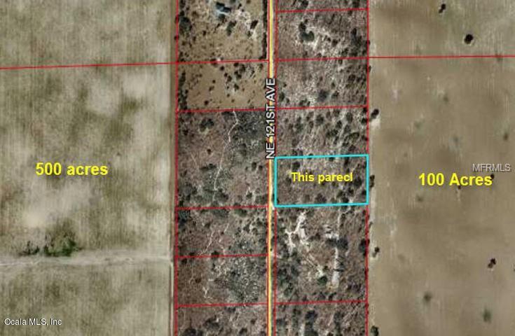 0 NE 121 AVENUE Property Photo - BRONSON, FL real estate listing