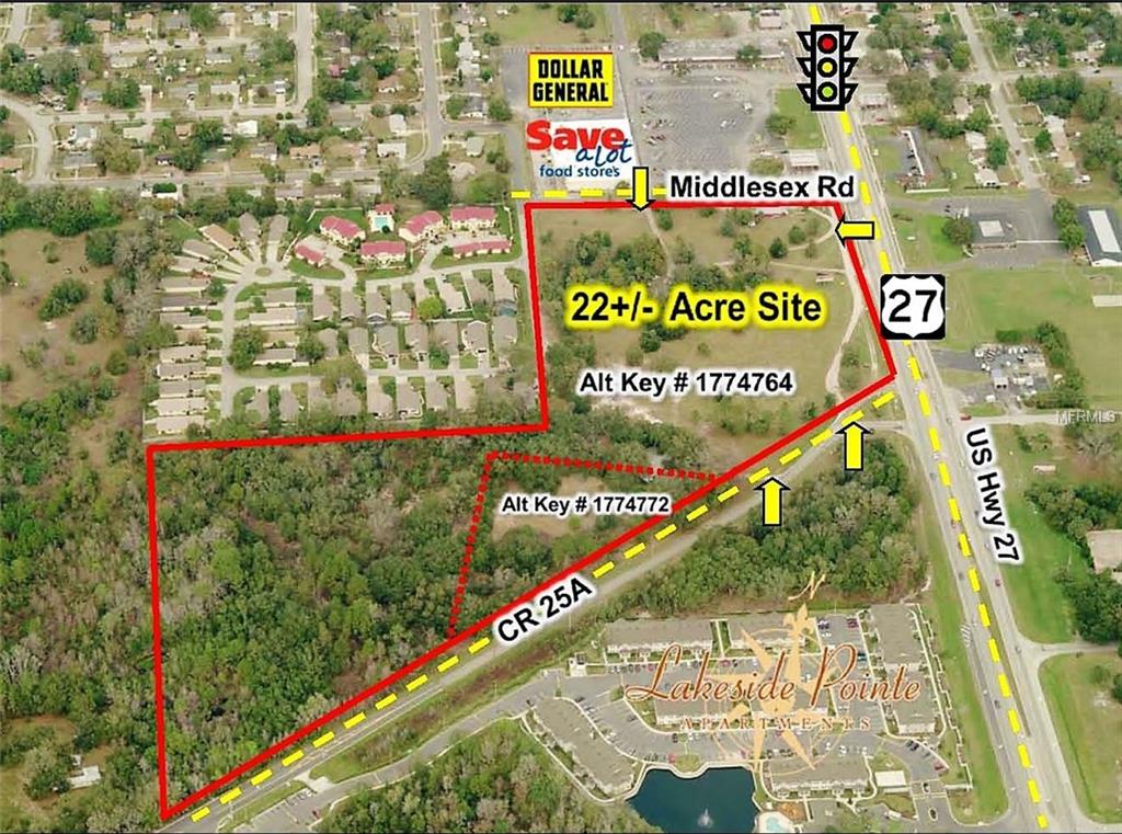 1415 MIDDLESEX RD & US HWY 27 Property Photo - LEESBURG, FL real estate listing