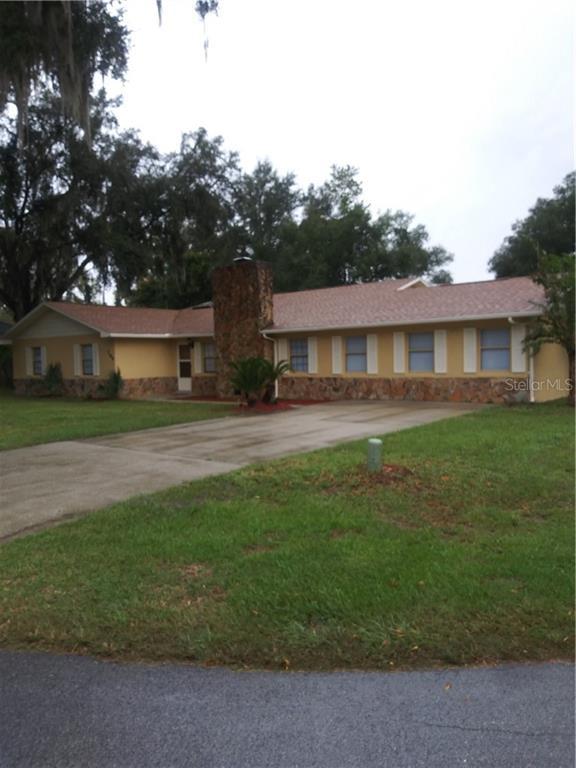 284 NE 1ST STREET Property Photo - WEBSTER, FL real estate listing