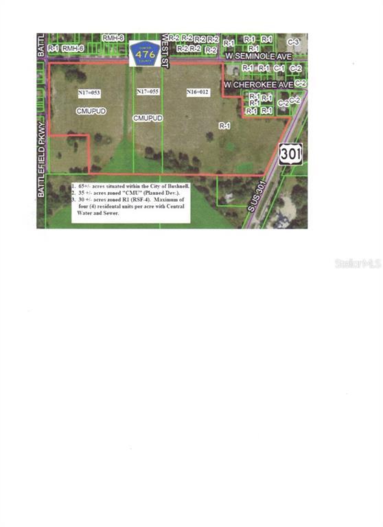 W. C-476 & US 301 Property Photo - BUSHNELL, FL real estate listing