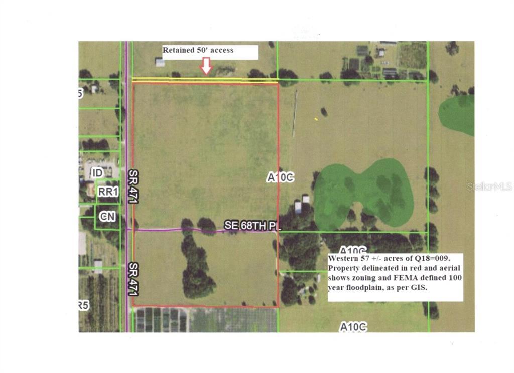 SR 471 Property Photo - BUSHNELL, FL real estate listing