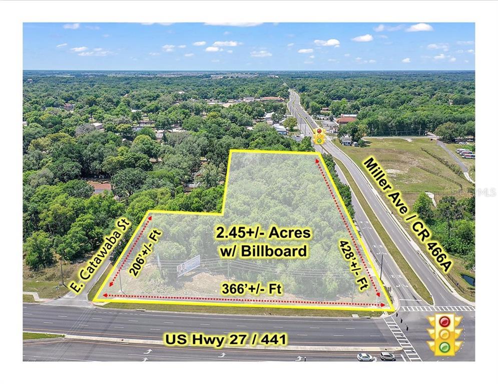 0 US HWY 27/441 & MILLER AVENUE Property Photo - FRUITLAND PARK, FL real estate listing