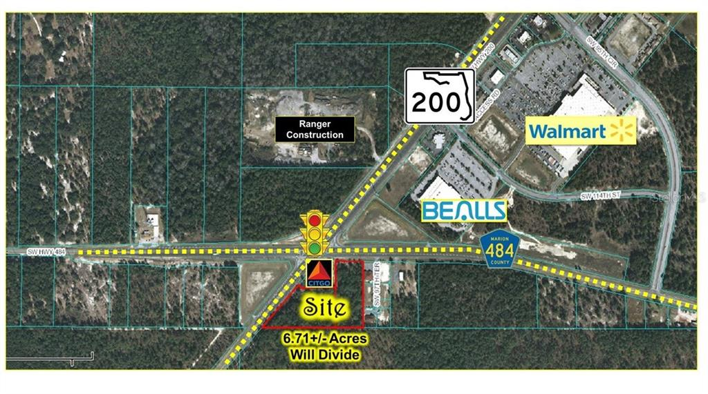 SW HWY 200 / COLLEGE RD Property Photo - OCALA, FL real estate listing