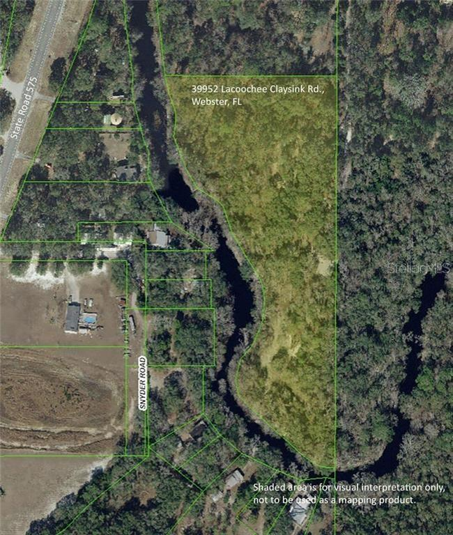 39952 LACOOCHEE CLAYSINK ROAD Property Photo - WEBSTER, FL real estate listing