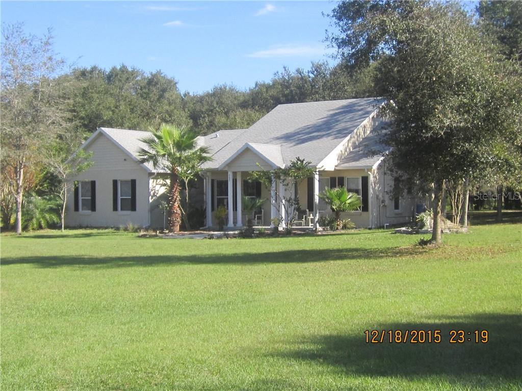 9622 DR. BAKER ROAD Property Photo - GROVELAND, FL real estate listing