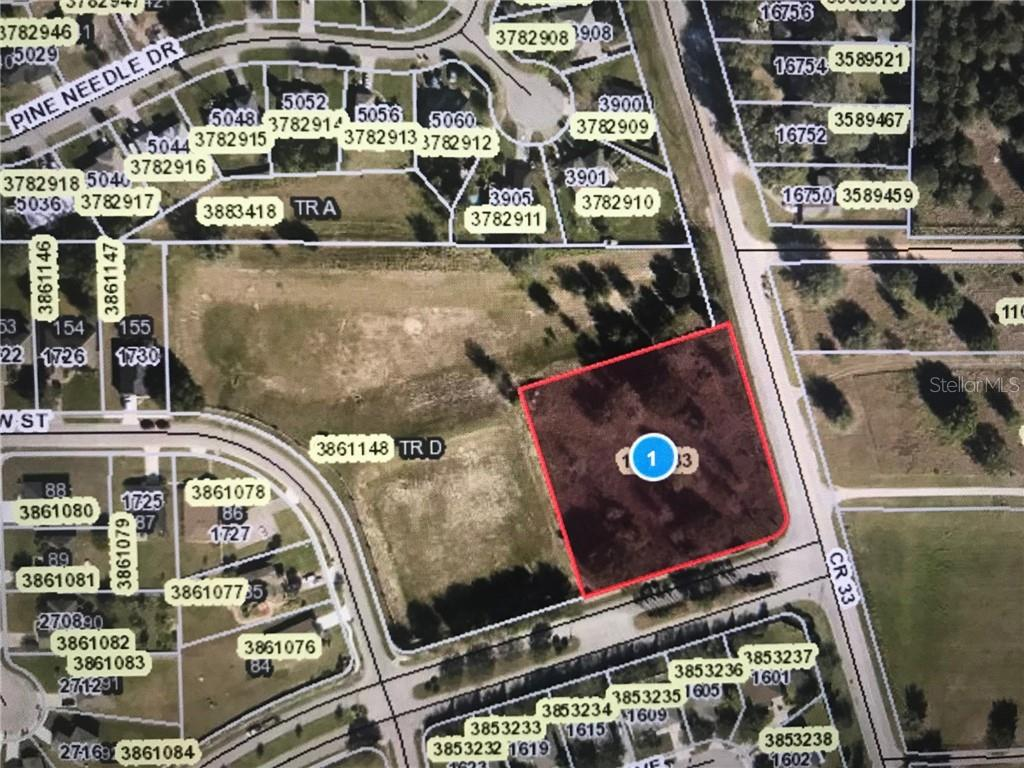 CORNER OF CR 33 AND CENTENNIAL PKWY Property Photo - MASCOTTE, FL real estate listing