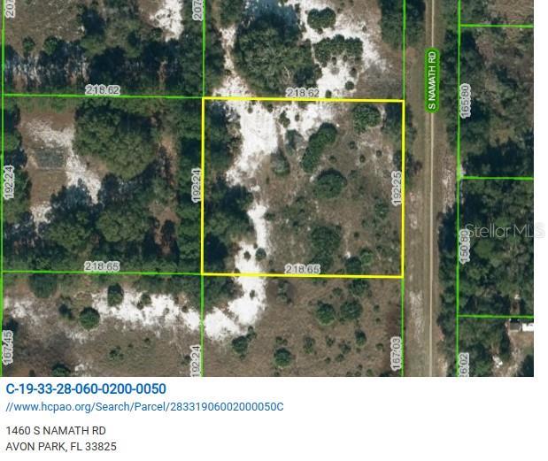 1460 S Namath Road Property Photo