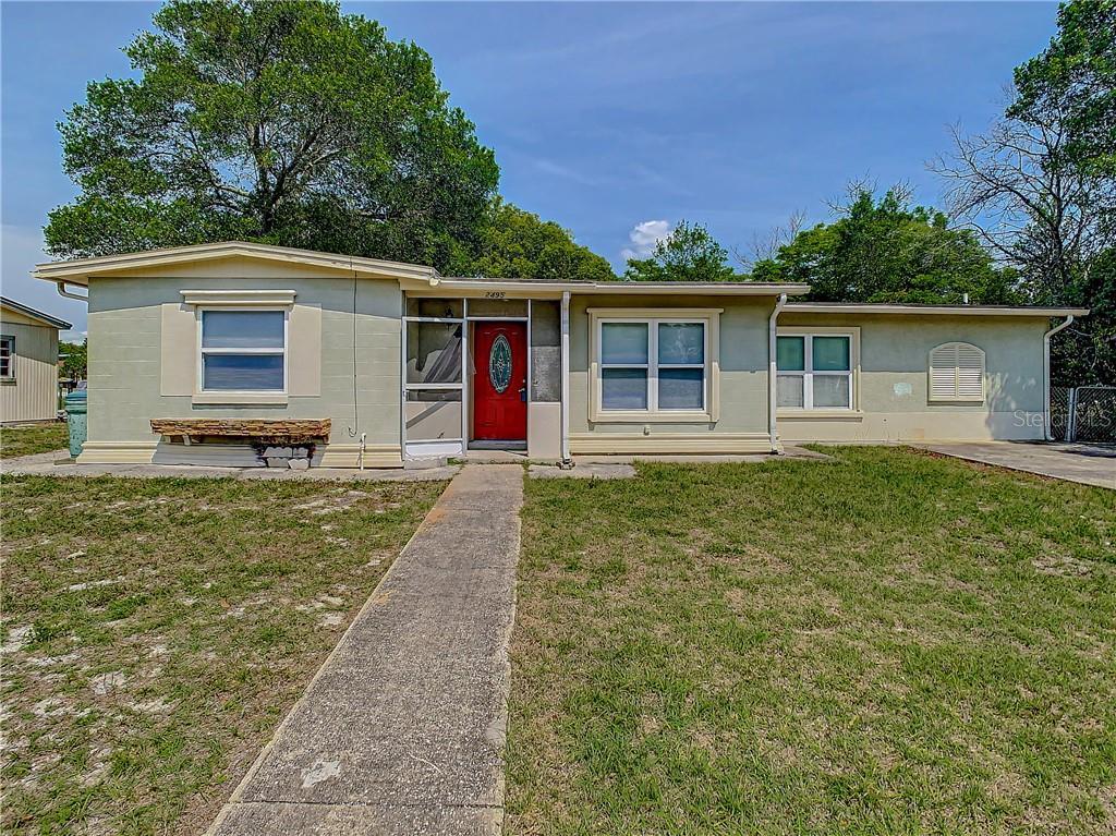 2495 BARBAROSSA AVE, DELTONA, FL 32738 - DELTONA, FL real estate listing