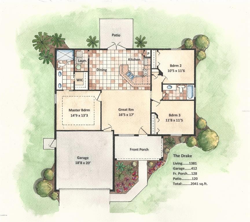 13589 SE 100th AVE, BELLEVIEW, FL 34420 - BELLEVIEW, FL real estate listing