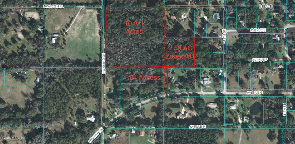0 NW 65 AVE Property Photo - MCINTOSH, FL real estate listing