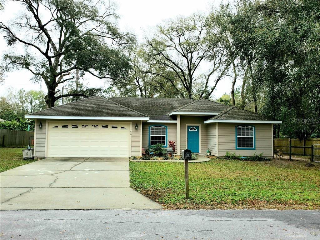 470 MARGARET ST, BRONSON, FL 32621 - BRONSON, FL real estate listing