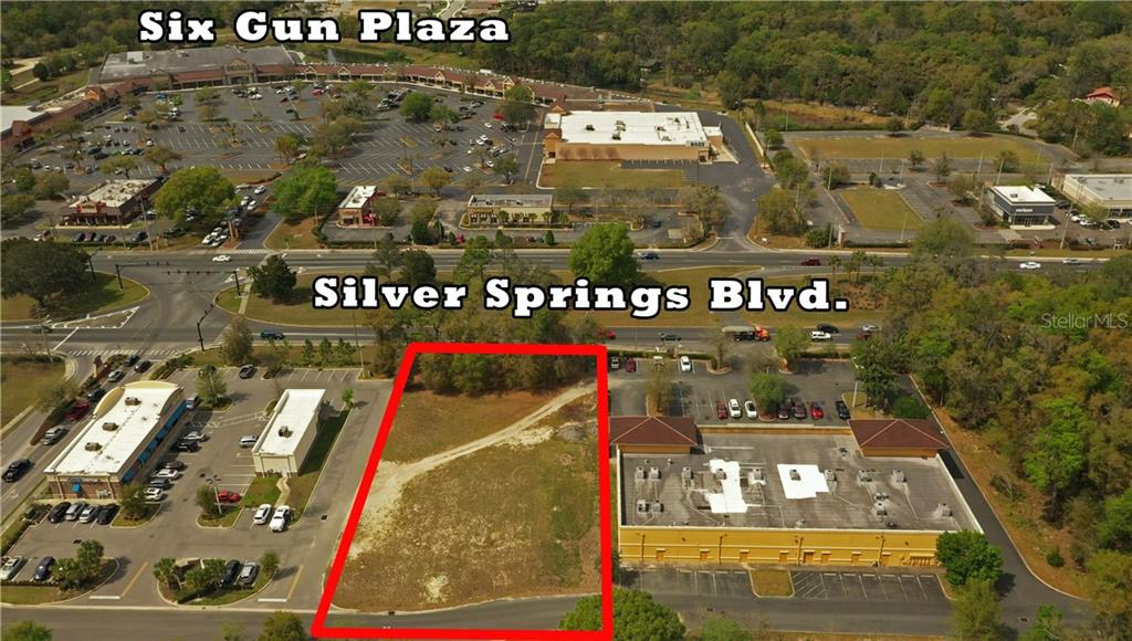 0 E SILVER SPRINGS BLVD Property Photo - OCALA, FL real estate listing