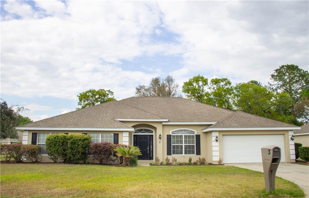 3 SUNRISE DR, OCALA, FL 34472 - OCALA, FL real estate listing