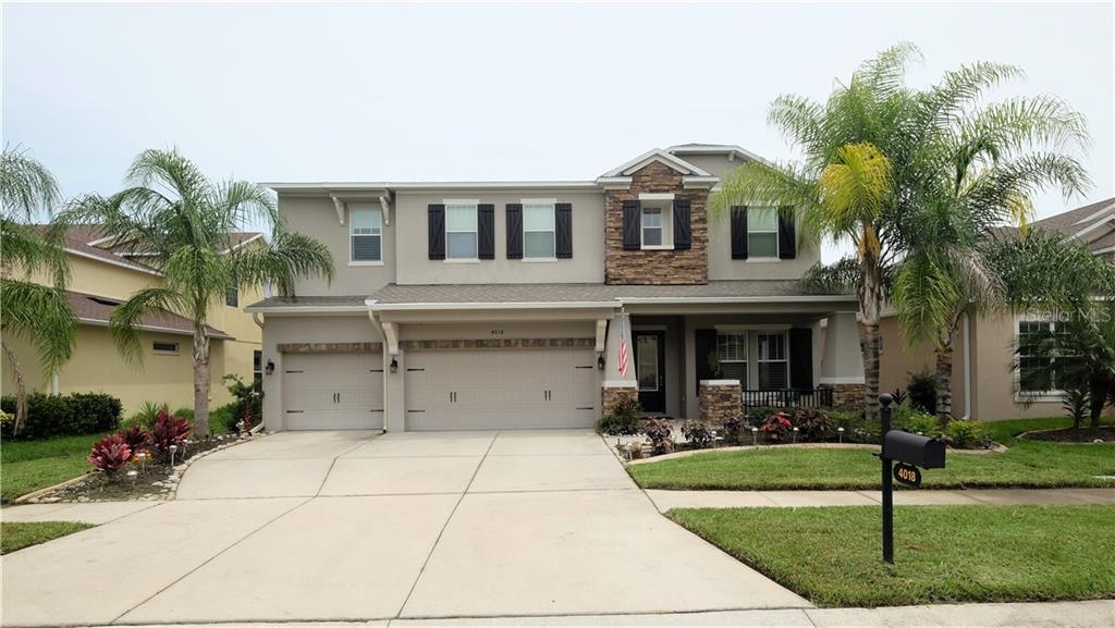 4018 WINDCREST DR Property Photo - WESLEY CHAPEL, FL real estate listing