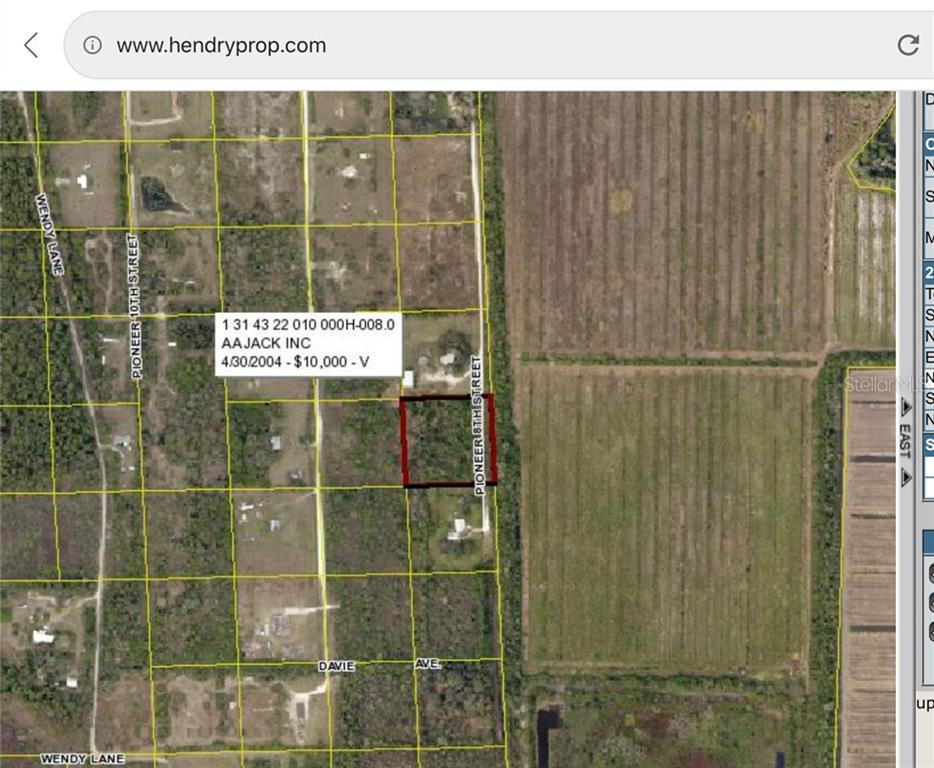 2850 PIONEER 8TH ST Property Photo - CLEWISTON, FL real estate listing