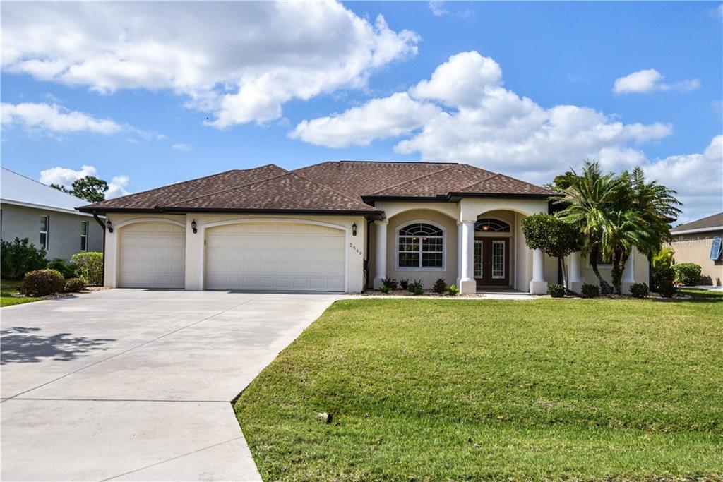 2560 PEBBLE CREEK PL Property Photo - PORT CHARLOTTE, FL real estate listing